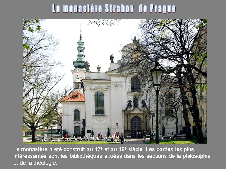 Le monastère a été construit au 17 e et au 18 e siècle.