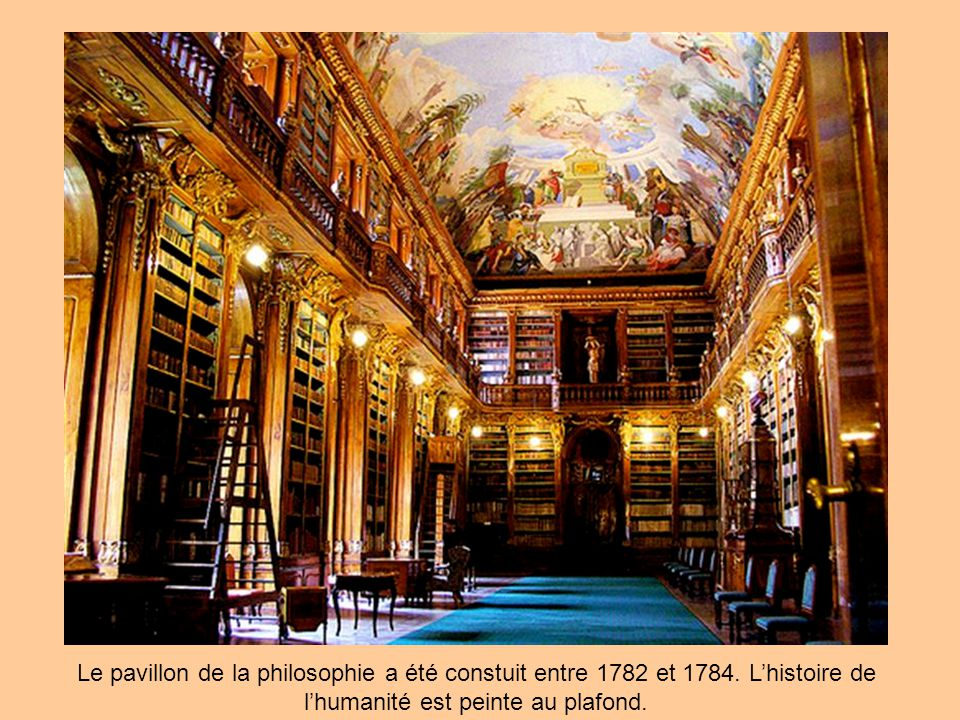 Le pavillon de la philosophie a été constuit entre 1782 et 1784.