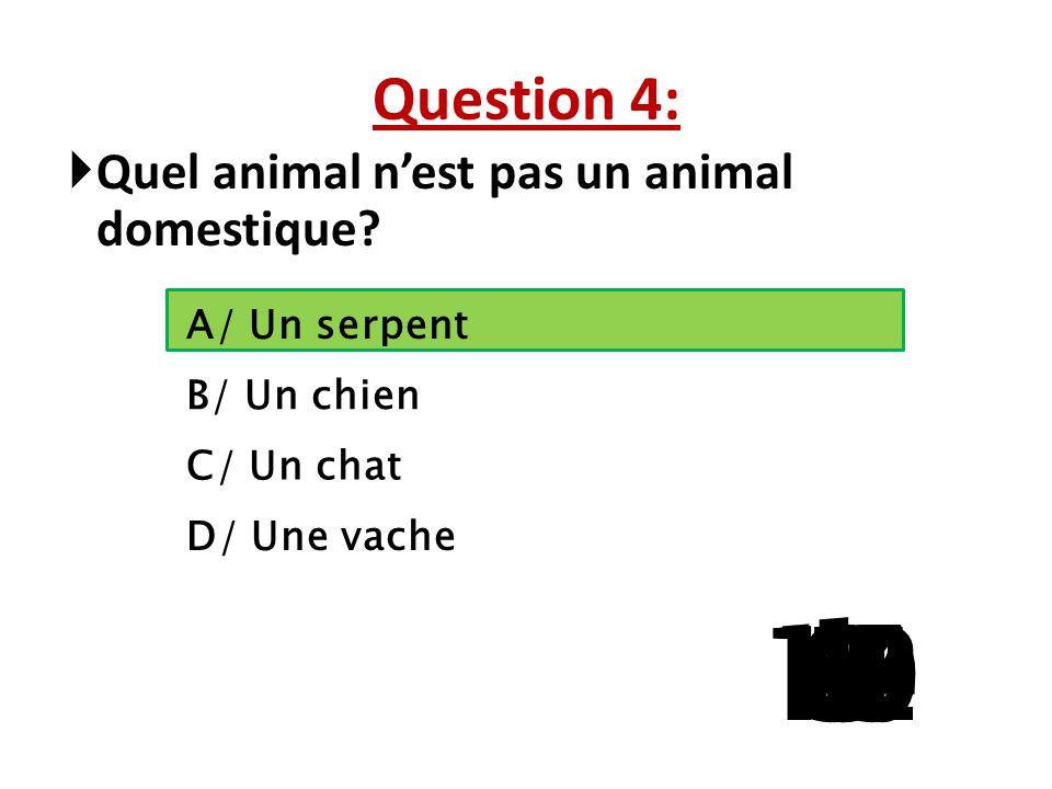 Question 3: Une heure et demie = ? minutes A/ 60 B/ 72 C/ 90 D/ 100 15 141312111098765 4 32 1