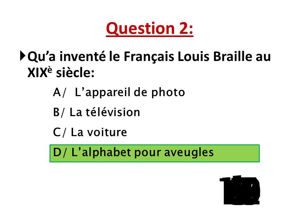 """Question 1:  Quel mot ne prend pas un """"x"""" au pluriel: A/ Hibou B/ Trou C/ Caillou D/ Chou 15 141312111098765 4 32 1"""