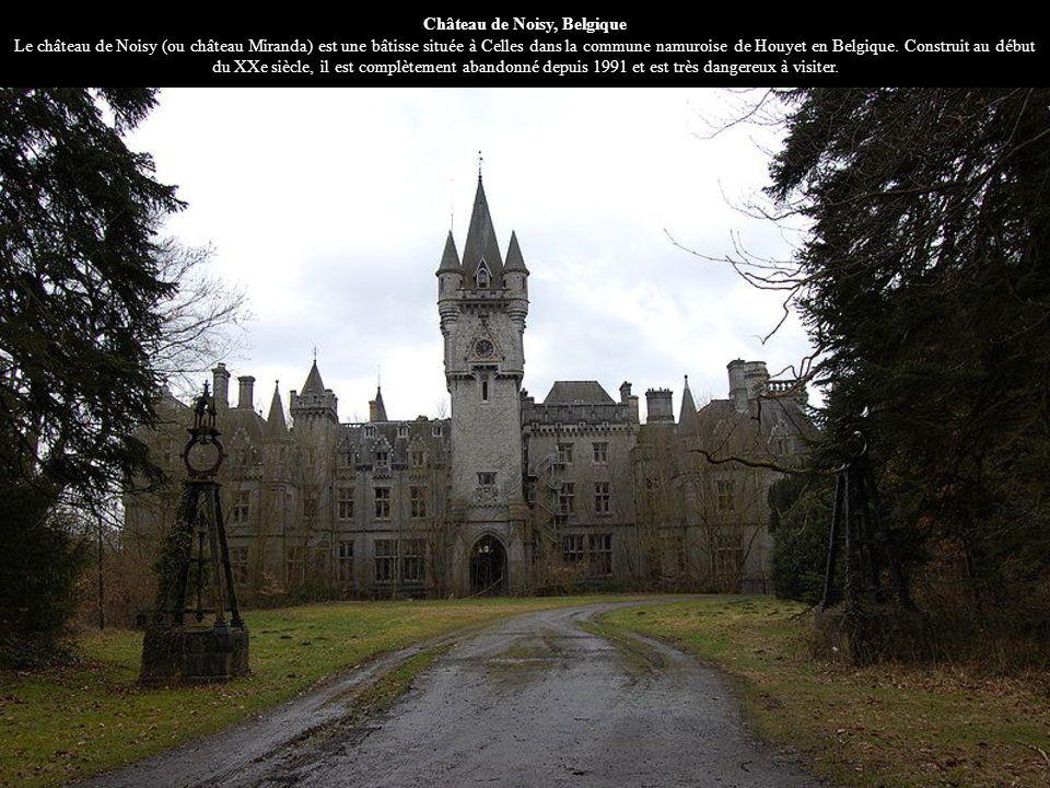 Château de Noisy, Belgique Le château de Noisy (ou château Miranda) est une bâtisse située à Celles dans la commune namuroise de Houyet en Belgique. C