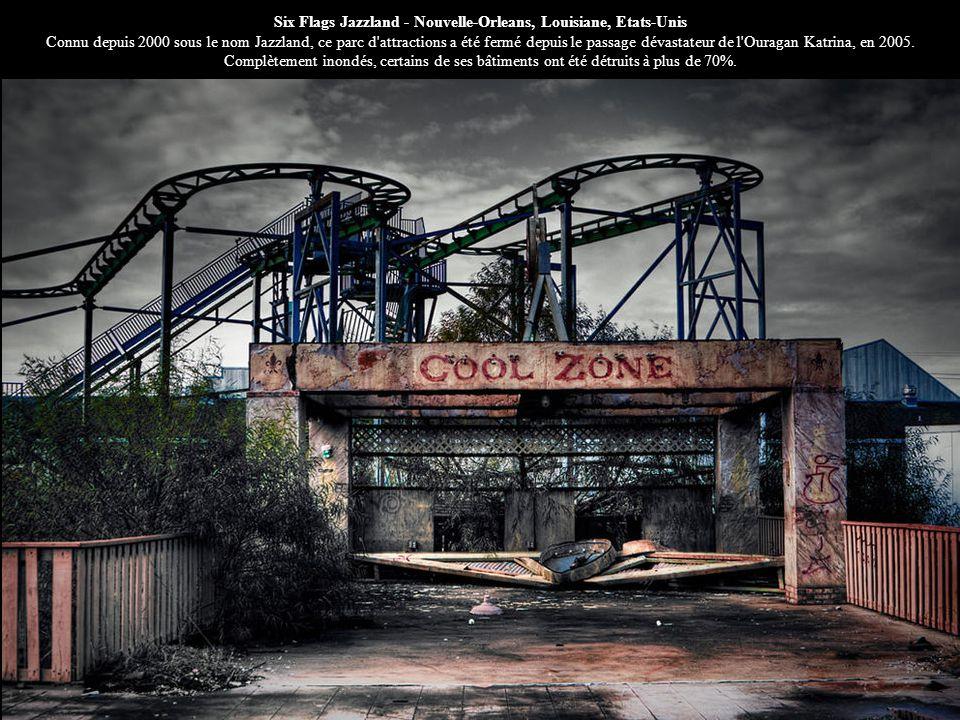 Six Flags Jazzland - Nouvelle-Orleans, Louisiane, Etats-Unis Connu depuis 2000 sous le nom Jazzland, ce parc d'attractions a été fermé depuis le passa