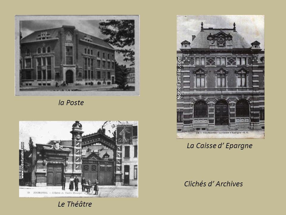 Le Mongy ancêtre du tramway relie la ville à Roubaix et à Lille