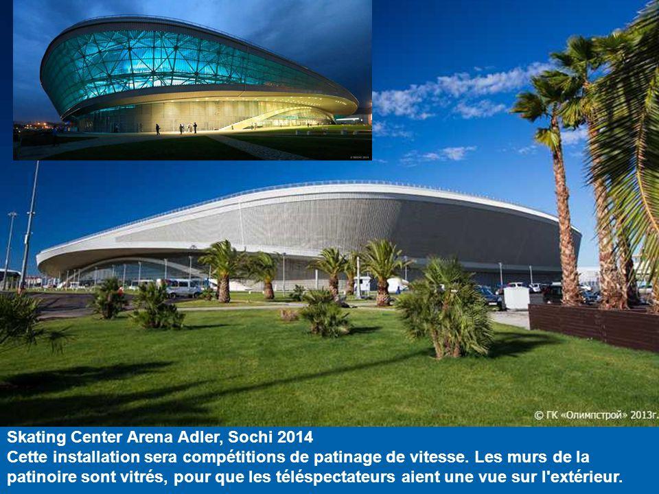 Petit Palais des Glaces / excentrique Arena, Sochi 2014