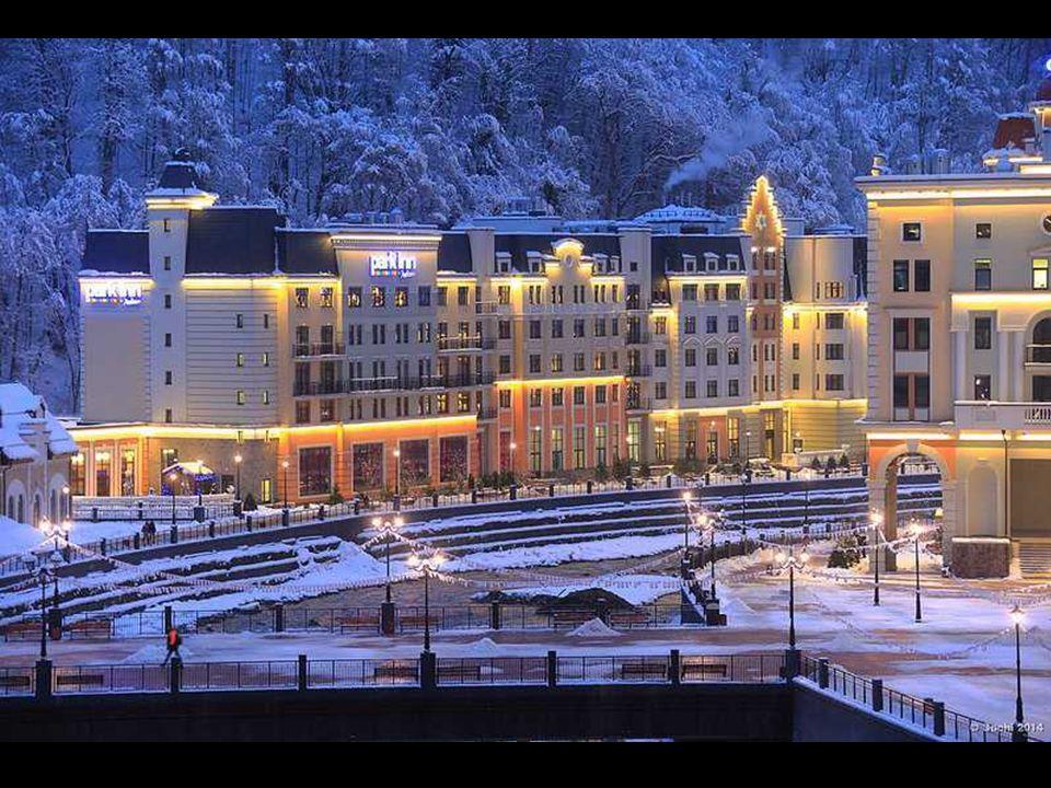 Depuis plusieurs années, a éré construit ici des hôtels modernes, des restaurants, des remontées mécaniques, des pistes et les parcs à neige - le tout
