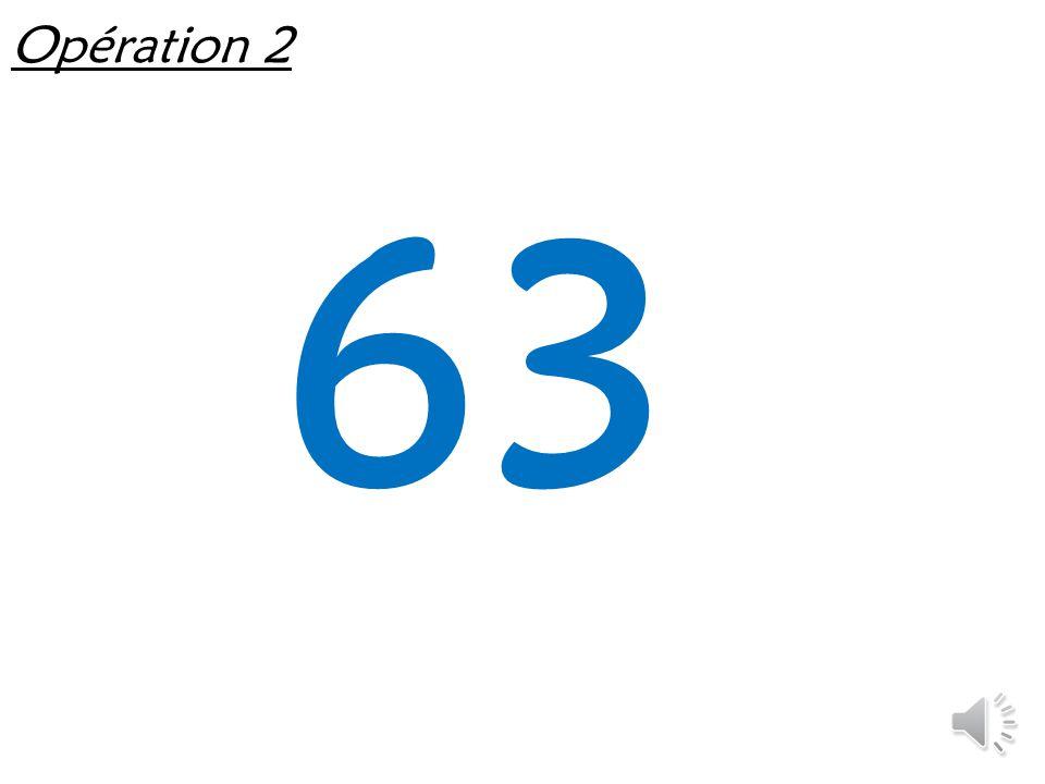 Opération 1 6 x 7