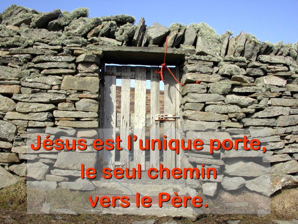 Jésus est l'unique porte, le seul chemin vers le Père.