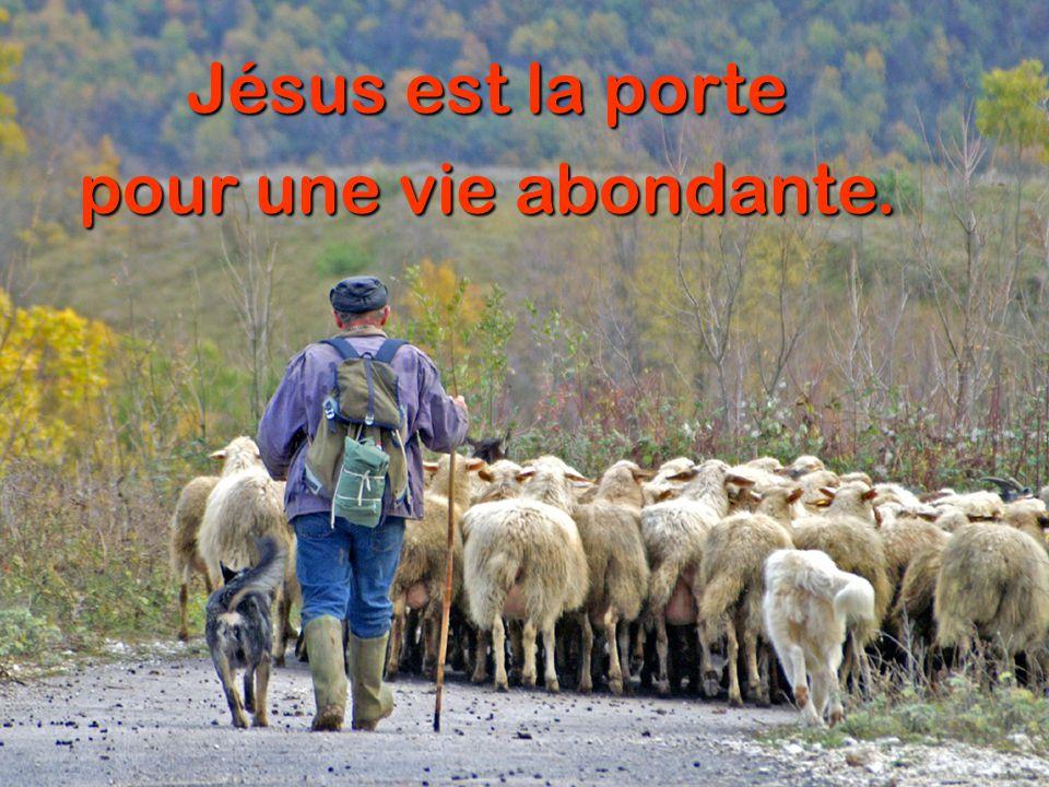 Jésus est la porte vers la sécurité.