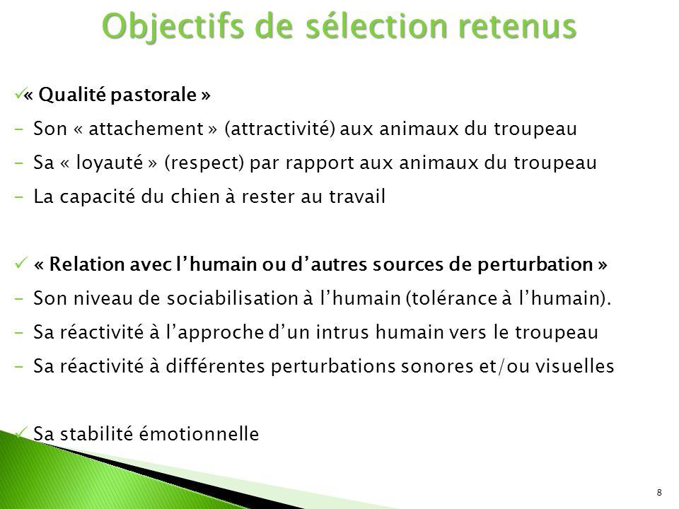 9  Préparation du test : décisions qui s'appuient sur ◦ Le cahier des charges de la Circulaire DGPAAT 05/03/2013 ◦ Tests SCC et IE Quels chiens sont concernés par le test .