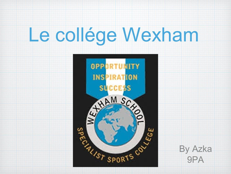 De l école de Wexham École Wexham est en Angleterre.