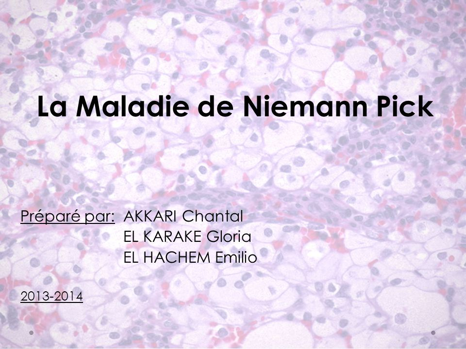 Mutation du gène de la protéine Niemann-Pick C1 Mutation du gène de la protéine Niemann-Pick C2 Disfonctionnement de la proteine NPC1 Disfonctionnement de la proteine NPC2 Accumulation anormale de cholesterol
