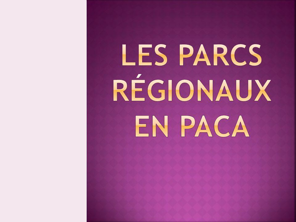 La Provence-Alpes-Côte d'Azur regroupe 4 parcs naturels régionaux: PARC NATUREL RÉGIONAL DU LUBERON PARC NATUREL RÉGIONAL DU QUEYRAS PARC NATUREL RÉGIONAL DU VERDON PARC NATUREL RÉGIONAL DE CAMARGUE