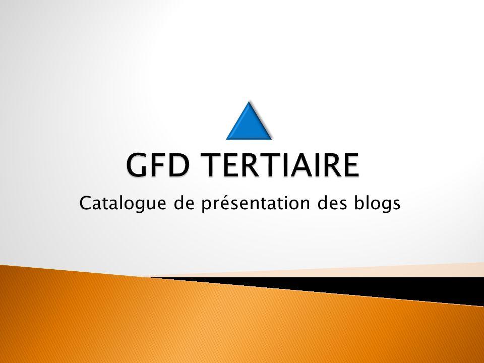 Catalogue de présentation des blogs