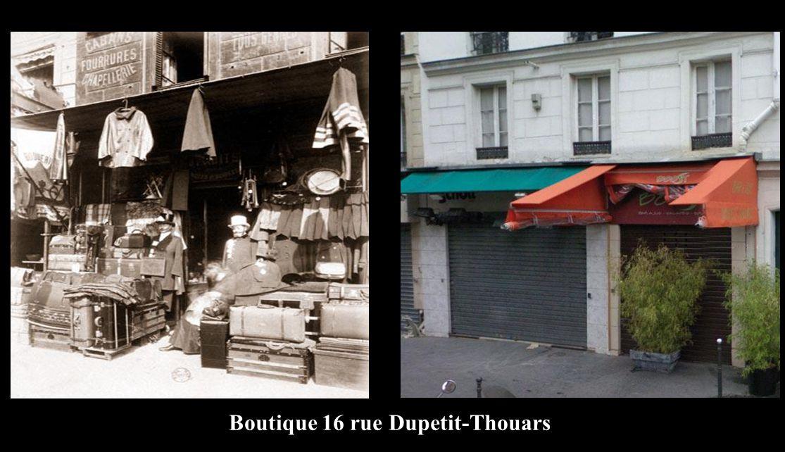 Boutique 16 rue Dupetit-Thouars