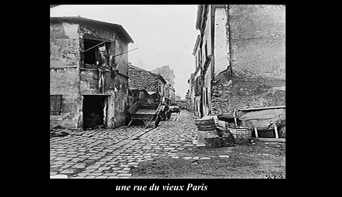 Les moulins de Montmartre en 1852