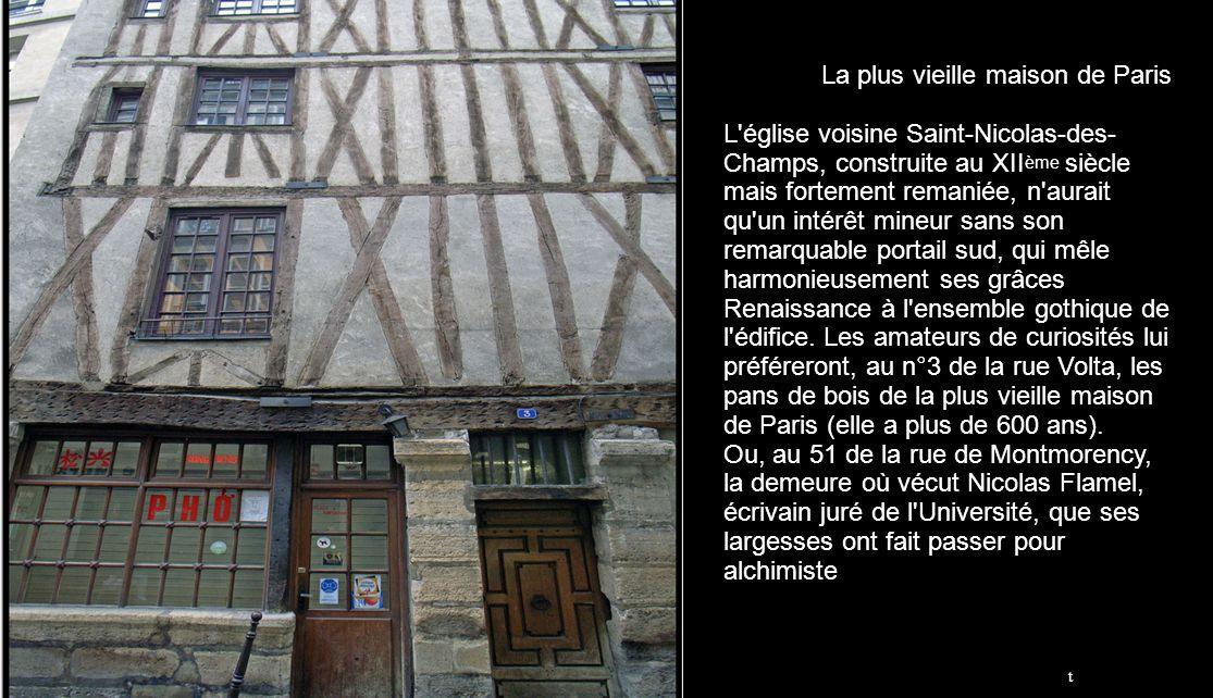 La voiture Grande échelle Le plus vieux bistrot de Paris rue de la Colombe. Ce bistrot daterait de...1210. En 1715 sous le nom de taverne St Nicolas i