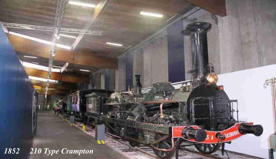 1843 111 Class Buddicom Locomotive à vapeur