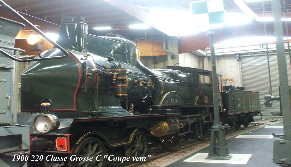 1900 220 Classe Grosse C Coupe vent