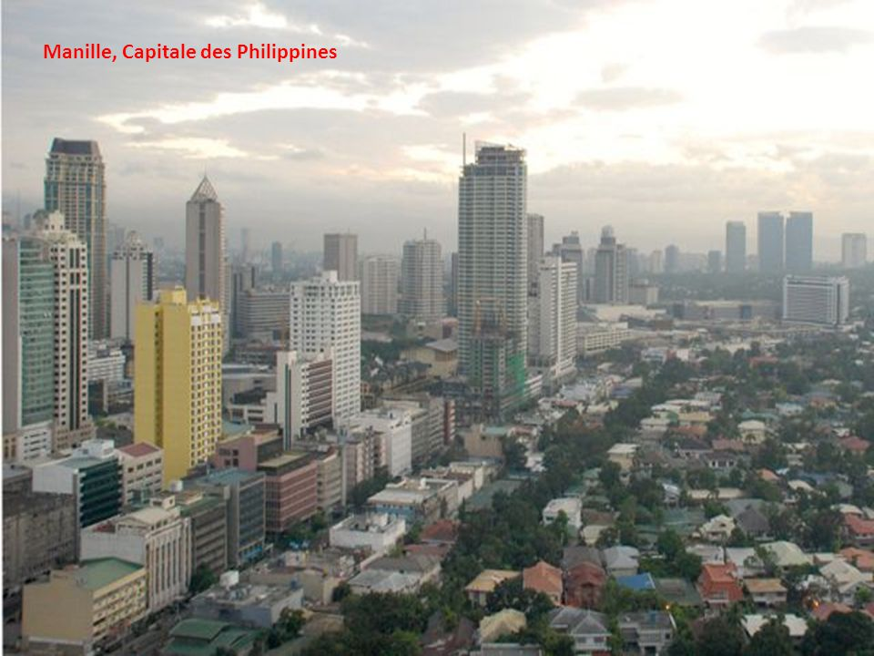 Manille, Capitale des Philippines