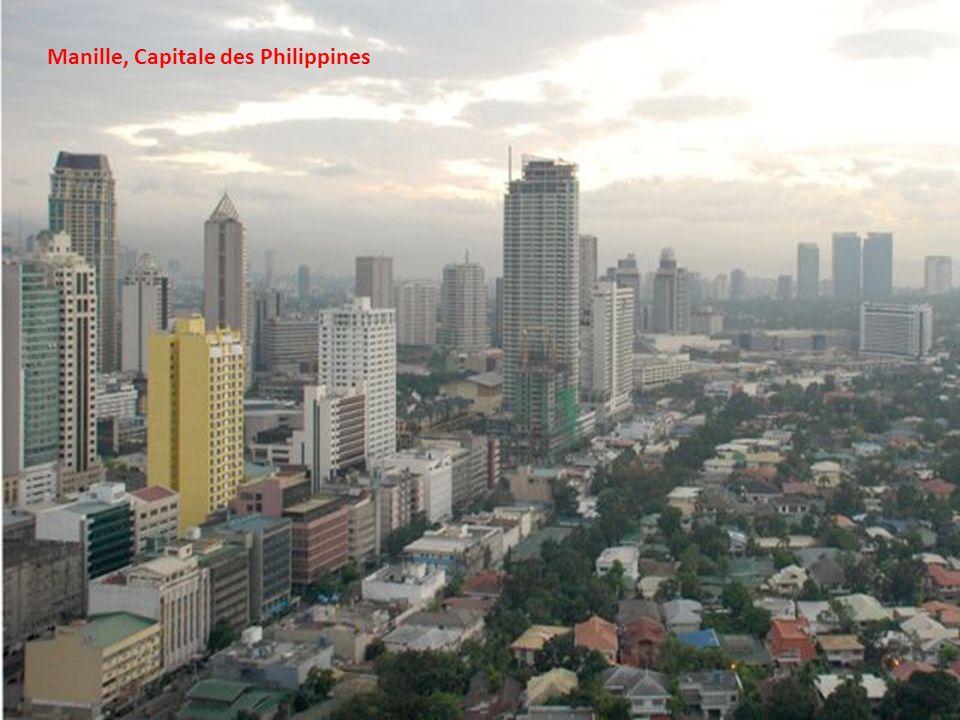 Un marché à Manille