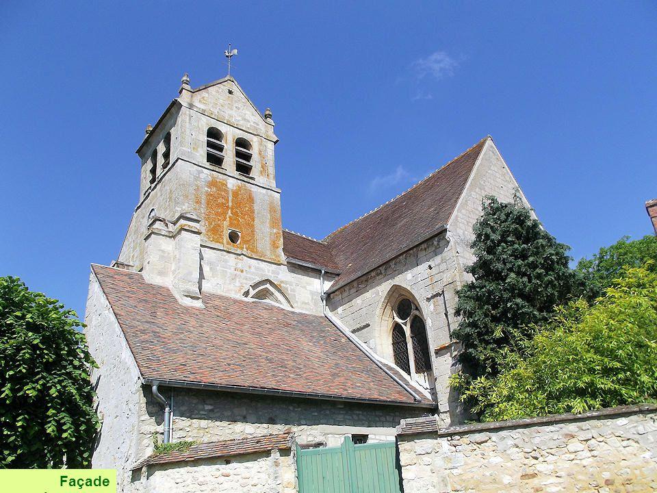 Selon la tradition, l'église de Wy aurait été fondée vers 625 par saint Romain, évêque de Rouen, et primitivement dédiée à Notre-Dame. Un cimetière mé