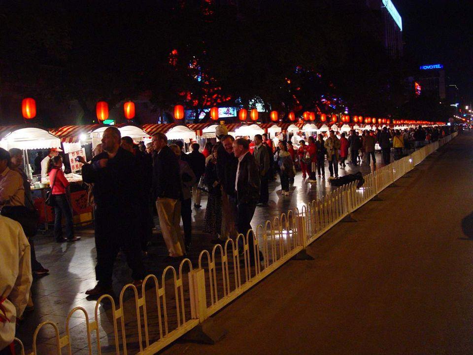 Les marchés de Pékin