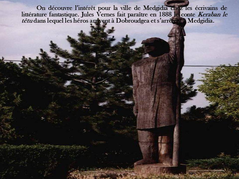 On découvre l'intérêt pour la ville de Medgidia chez les écrivains de littérature fantastique.