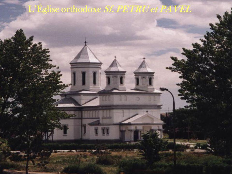 L'Église orthodoxe Sf. PETRU et PAVEL