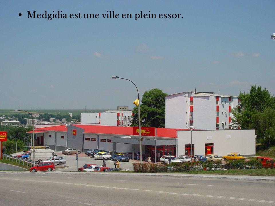 Medgidia est une ville en plein essor.