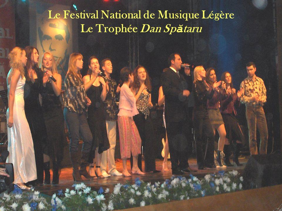 Le Festival National de Musique Légère Le Trophée Dan Sp ă taru