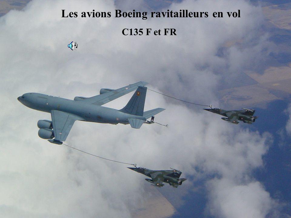 C135 FR Les avions Boeing ravitailleurs en vol C135 F et FR
