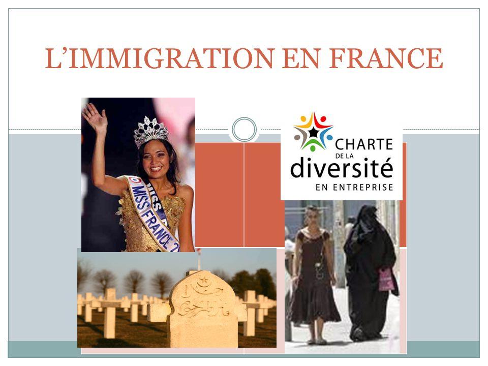 LA CHRONOLOGIE DE L'IMMIGRATION AVANT 1850: L'immigration concernait autrefois surtout les personnes des classes supérieures jusqu à la révolution industrielle du 19e siècle.