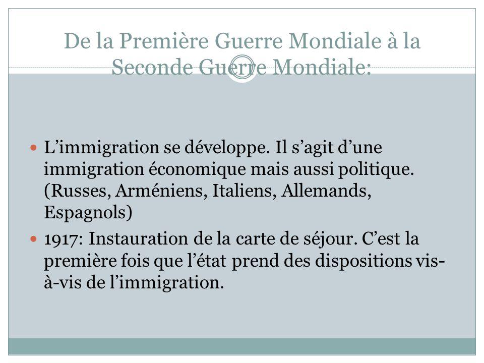 1931-1939 1931: La crise économique frappe la France.