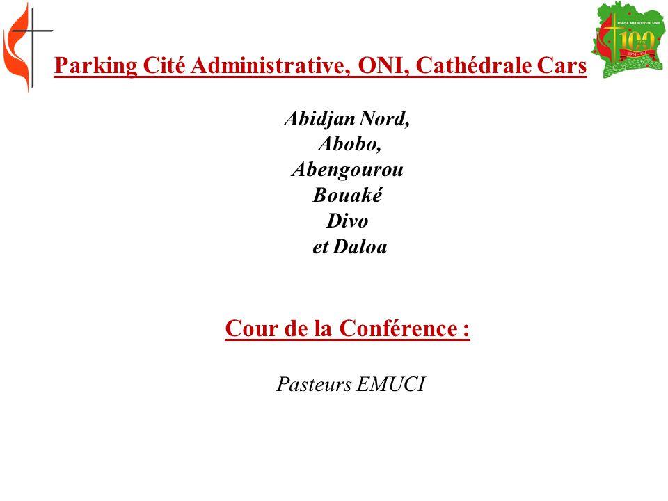 Secrétaire de la Conférence Assistants du Secrétaire chargés de la Communication, des Editions, Inspectorat, Conseil de Discipline.
