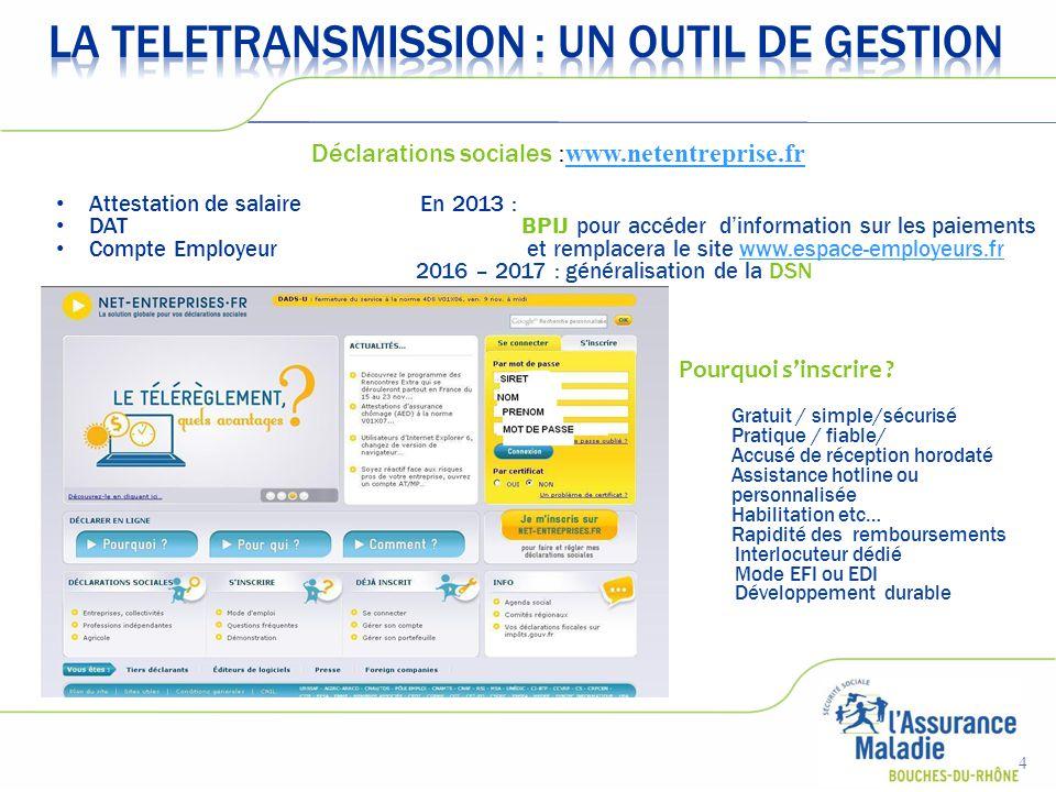www.netentreprise.fr  En mode EFI => formulaire en ligne  En mode EDI => via un logiciel propre à chaque entreprise développé en interne ou par un éditeur.