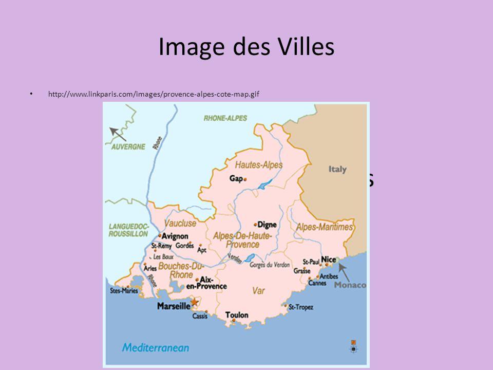 Image des Villes photographie des villes http://www.linkparis.com/images/provence-alpes-cote-map.gif