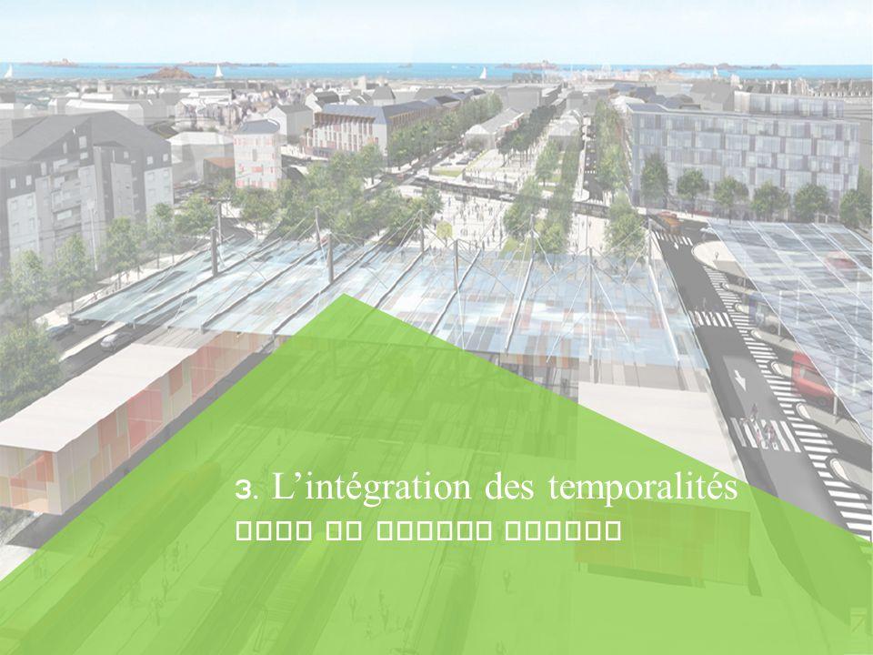 3. L'intégration des temporalités dans le projet urbain