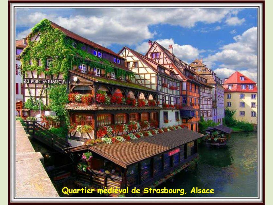 La Petite –France médiévale, Strasbourg