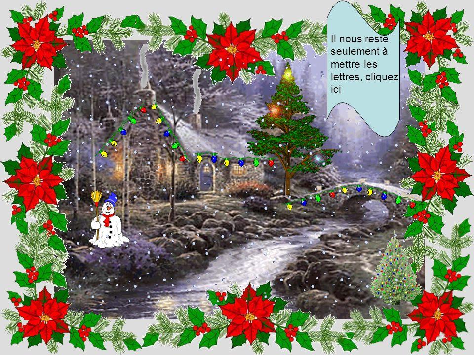 Un Noël sans neige, n'est pas un Noël, cliquez ici