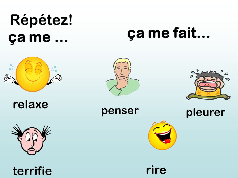 Can you think of any adjectives in French.Use the dictionary or your cahier rouge.