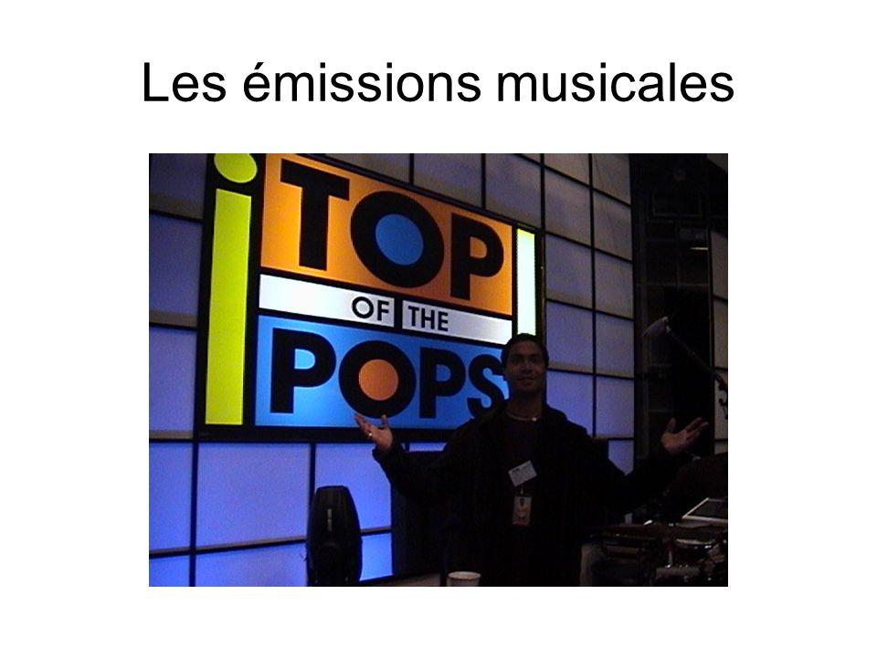Les émissions musicales