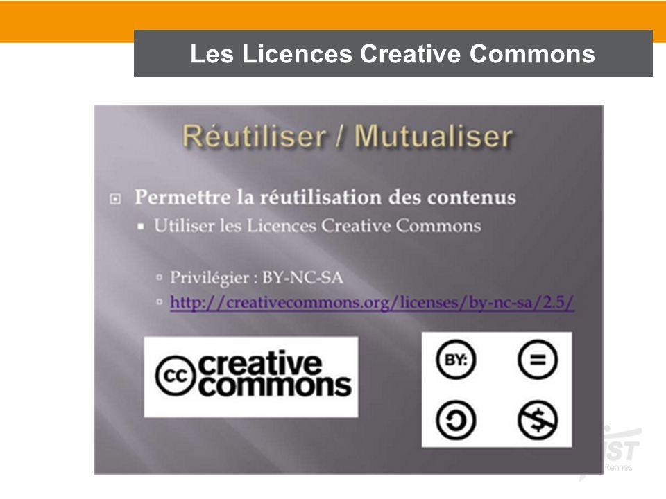 37 Les Licences Creative Commons