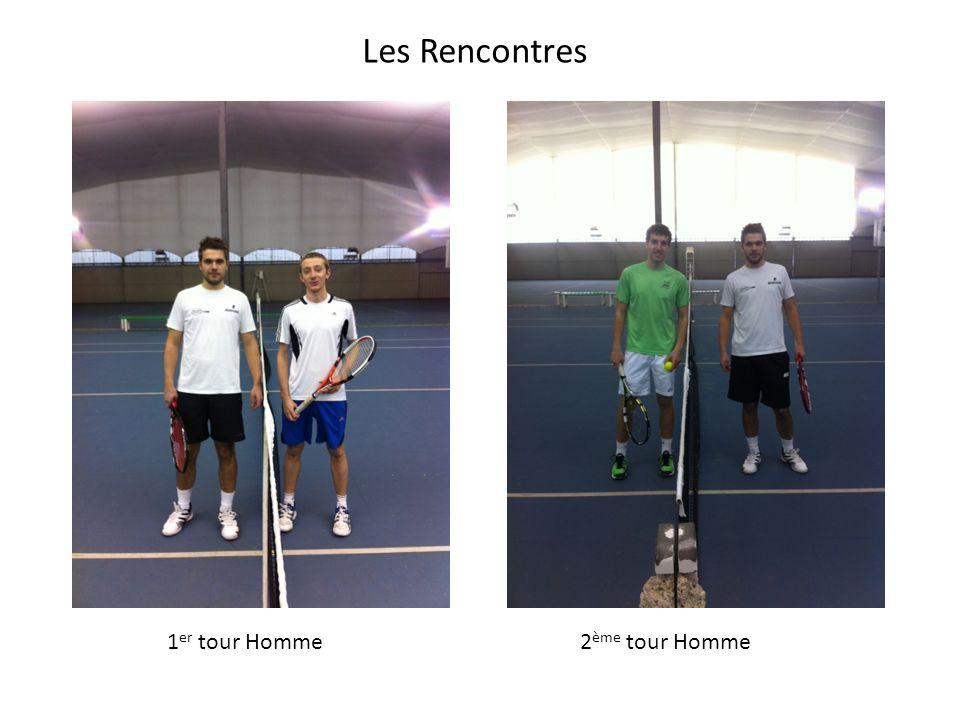 Les Rencontres 1 er tour Homme2 ème tour Homme