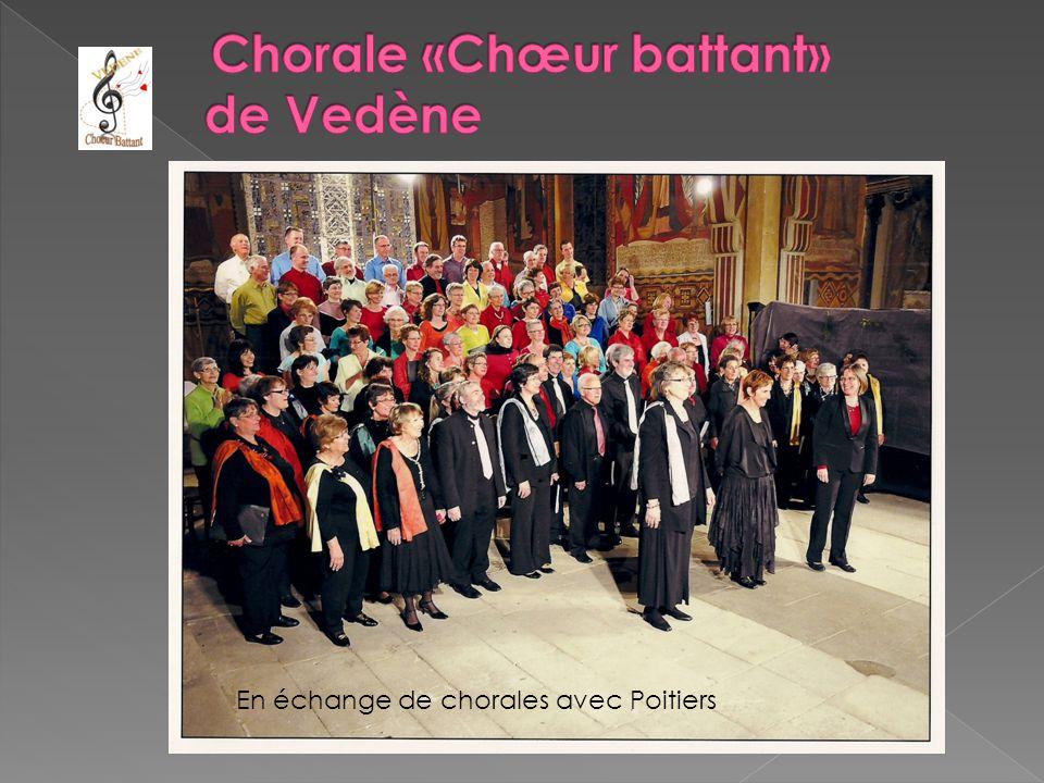 En échange de chorales avec Poitiers