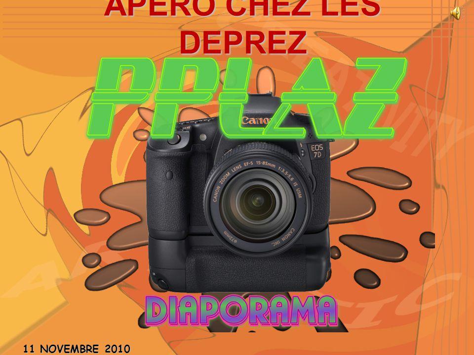 APERO CHEZ LES DEPREZ 11 NOVEMBRE 2010