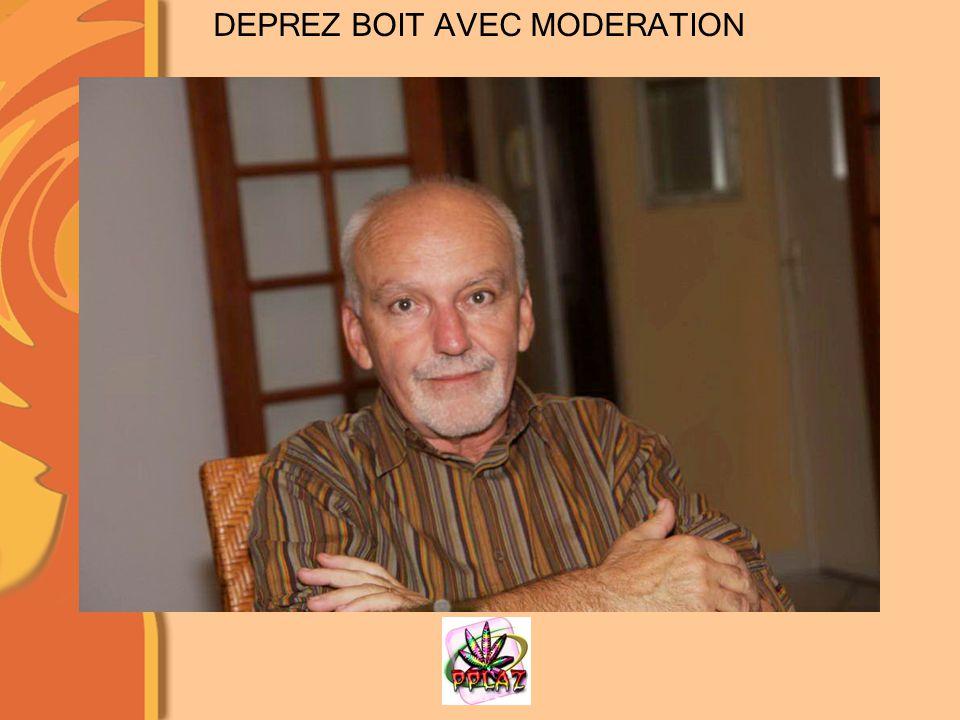 DEPREZ BOIT AVEC MODERATION