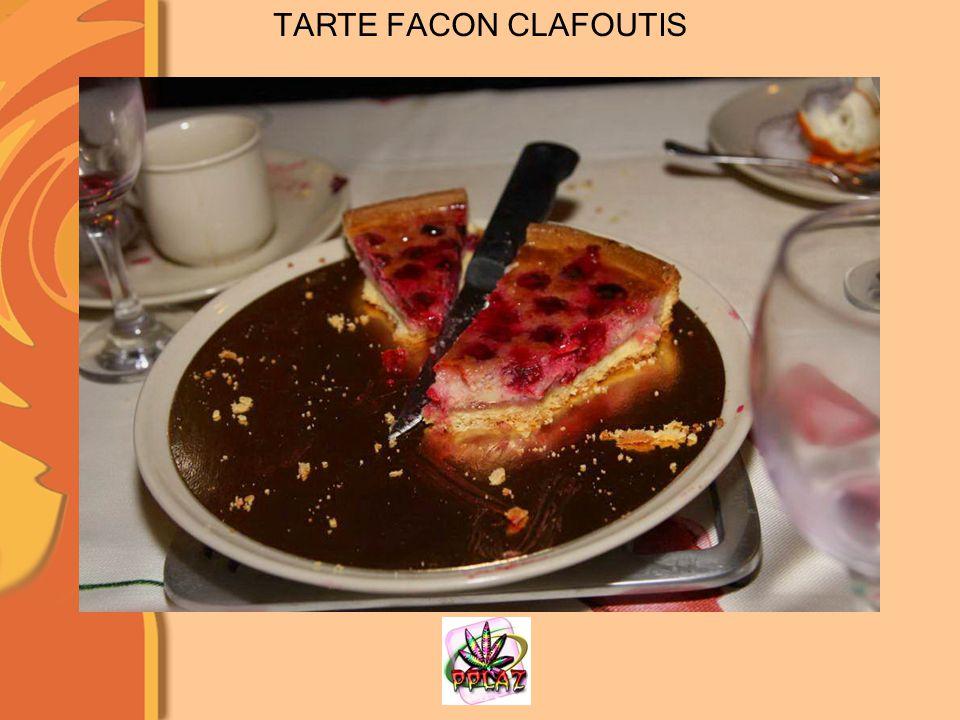 TARTE FACON CLAFOUTIS