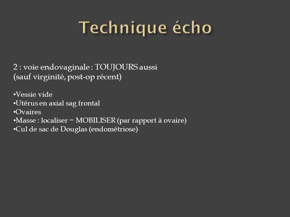 1. muqueuse 2. Cintre fibreux péri-cervical 3. Stroma cervical