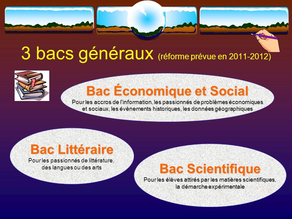 Bac STG Sciences et Technologies de la Gestion 4 spécialités: Communication et Ressources Humaines, Mercatique, Comptabilité et Finance des Entreprises, Gestion des Systèmes d'Information.