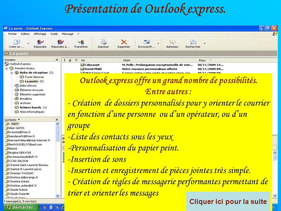 Cette messagerie se trouve sous le nom de Outlook ou Windows mail. Quelle est La différence ? Simplement, la version de Windows ou de outlook. Il exis
